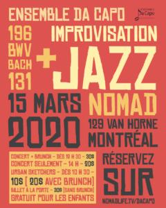 Da Capo chez Nomad - 15 mars 2020
